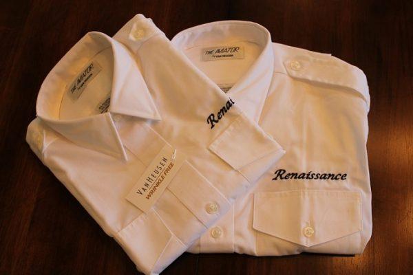 Renaissance aviator shirt