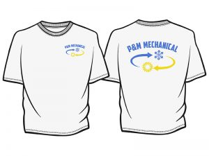 tshirt P&M MECHANICAl 800